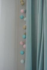 Lichterkette als Nachtlicht - selbst im Bastelladen farblich zusammengestellt