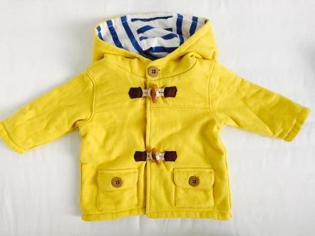 baby boden jacke gelb