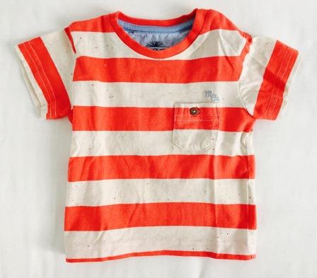 mes baby Streifenshirt